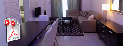 Modern apartment 100sqm, Limassol